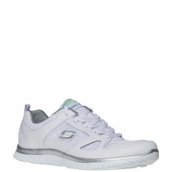Chaussure de sport femme skecher, Blanc, 509-1556 - 13