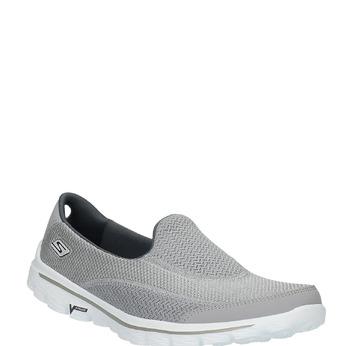Chaussure de sport femme style Slip-On skecher, Gris, 509-2708 - 13