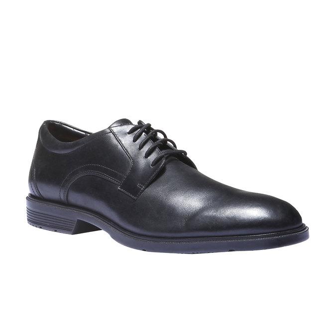 Chaussures lacées en cuir pour homme rockport, Noir, 824-6489 - 13