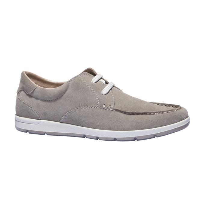 Chaussures de sport lacées bata, Jaune, 843-8271 - 13