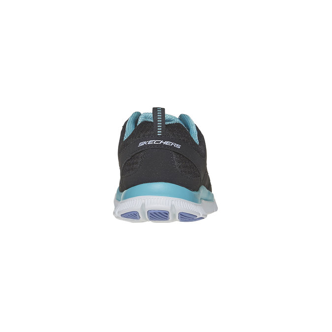 Chaussure de sport femme skecher, Noir, 509-6556 - 17