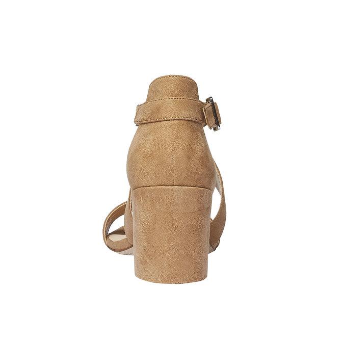 Sandale femme bata, Jaune, 769-8317 - 17