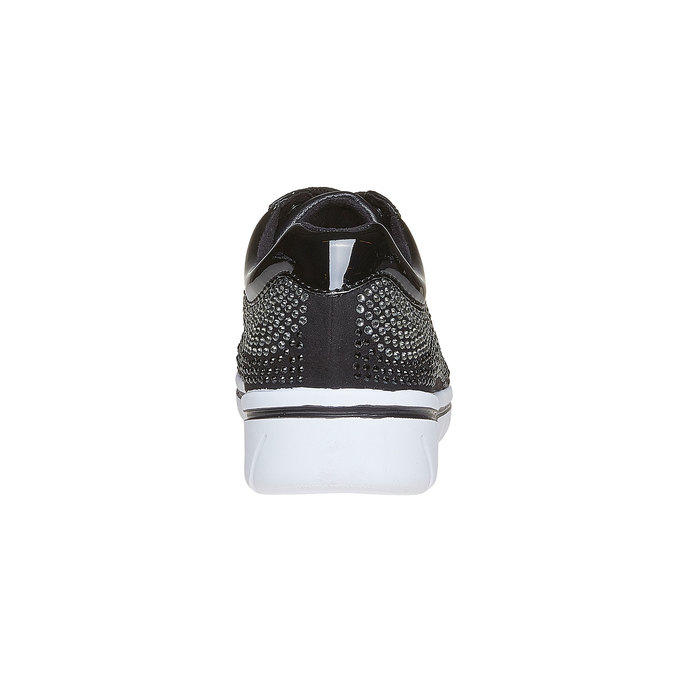 Baskets strass femme north-star, Noir, 549-6261 - 17
