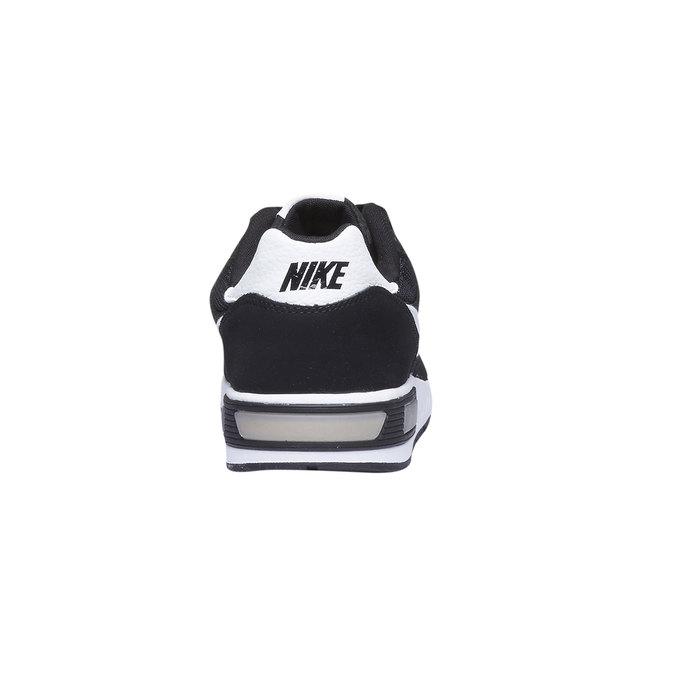 Tennis en cuir Nike nike, Noir, 803-6361 - 17