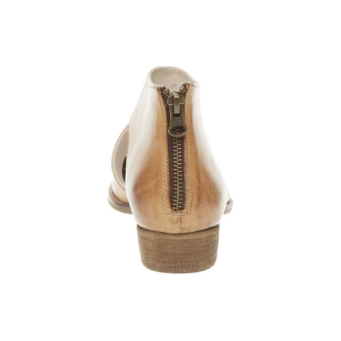 Bottine en cuir bata, Brun, 594-3259 - 17