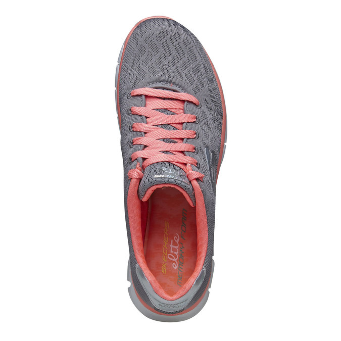 Chaussure de sport femme skecher, Gris, 509-2659 - 19
