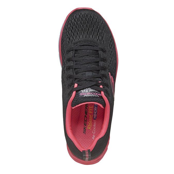 Chaussures femme skecher, Noir, 509-6706 - 19