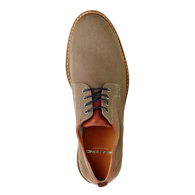 Chaussure lacée décontractée pour homme vagabond, Vert, 829-7002 - 19