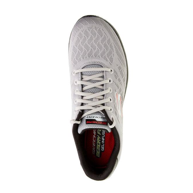 Chaussure de sport homme skecher, Gris, 809-2979 - 19