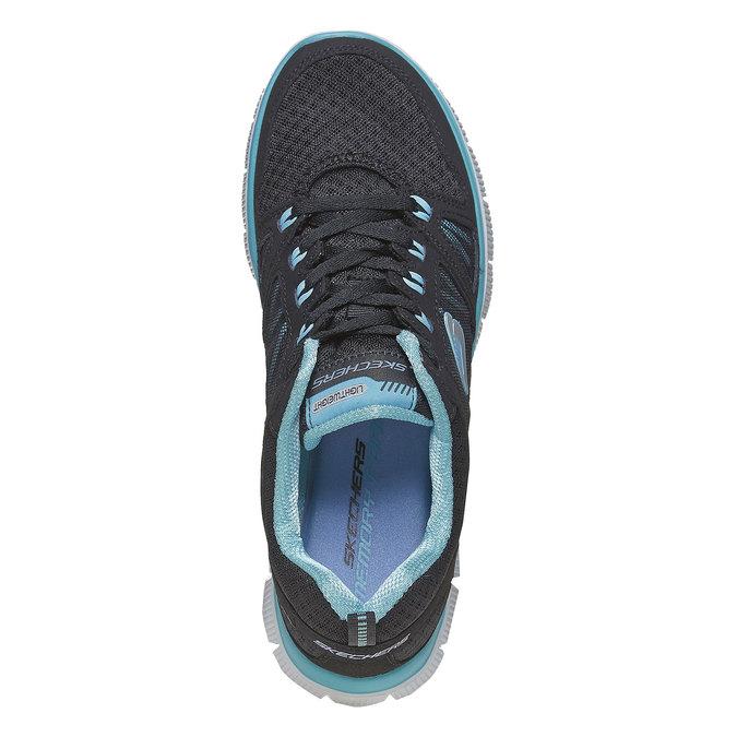 Chaussure de sport femme skecher, Noir, 509-6556 - 19