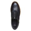 Chaussures en cuir à flatform bata, Noir, 524-6255 - 19