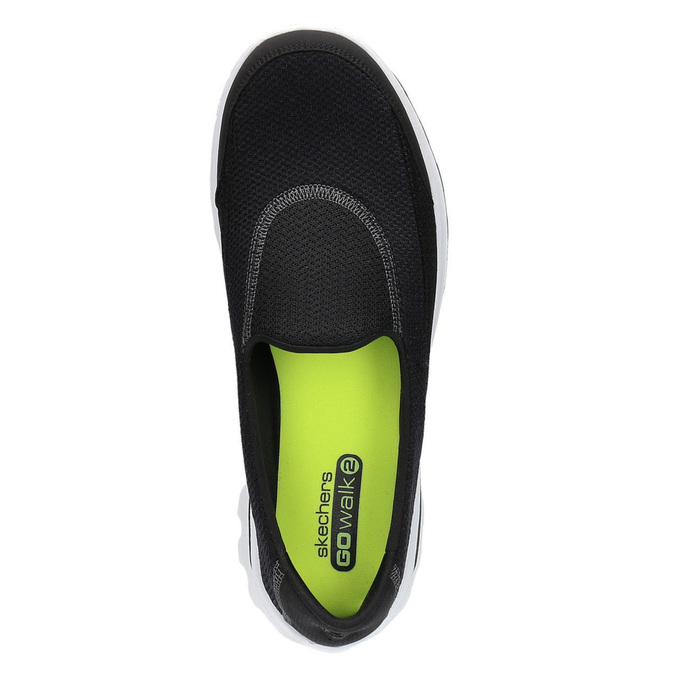 Slip on sport skecher, Noir, 509-6708 - 19