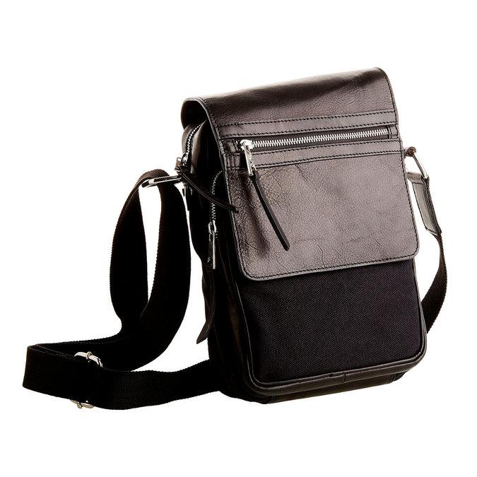 Le sac à bandoulière Seymur bata, Noir, 964-6100 - 13