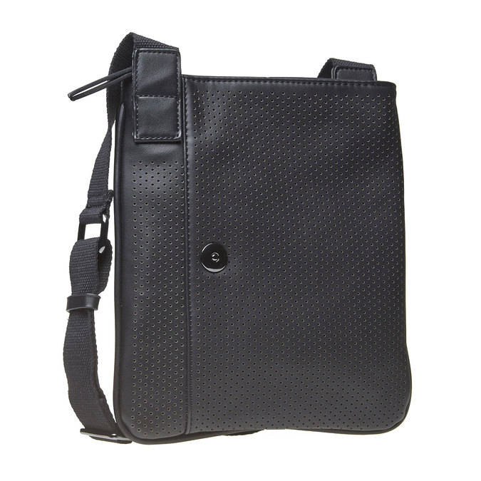 Sac Crossbody perforé bata, Noir, 961-6739 - 13