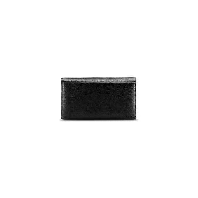 Porte-monnaie en cuir pour femme bata, Noir, 944-6133 - 26
