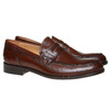Penny Loafers en cuir pour homme bata-the-shoemaker, Brun, 814-4160 - 26