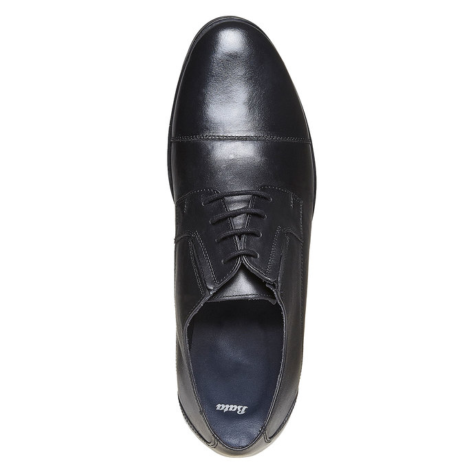 Chaussure en cuir homme bata, Noir, 824-6617 - 19