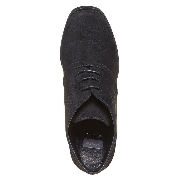 Chaussure femme à talon large bata, Noir, 799-6430 - 19