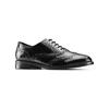 Chaussure en cuir dans le style Oxford bata, Noir, 524-6214 - 13