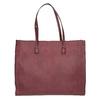 Sac à main femme de style Shopping bata, Rouge, 961-0736 - 26
