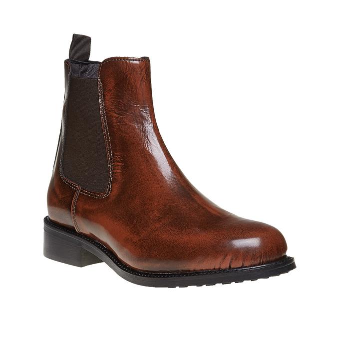 Chelsea Boot en cuir bata, Brun, 594-4124 - 13