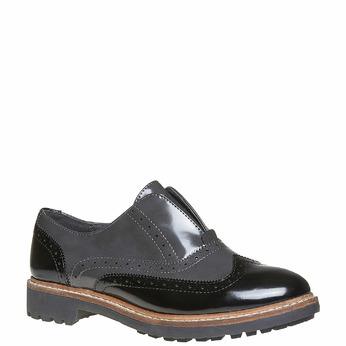 Chaussures Femme bata, Gris, 511-2194 - 13