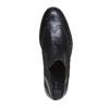 Chelsea Boots en cuir pour homme avec des motifs Brogue bata, Noir, 894-6201 - 19