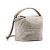 Sac à main en cuir dans le style Hobo bata, Gris, 963-2130 - 13