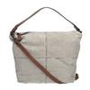 Sac à main en cuir dans le style Hobo bata, Gris, 963-2130 - 19