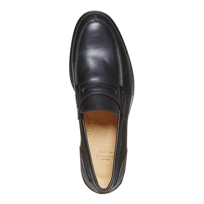 Mocassin en cuir homme bata-the-shoemaker, Noir, 814-6160 - 19