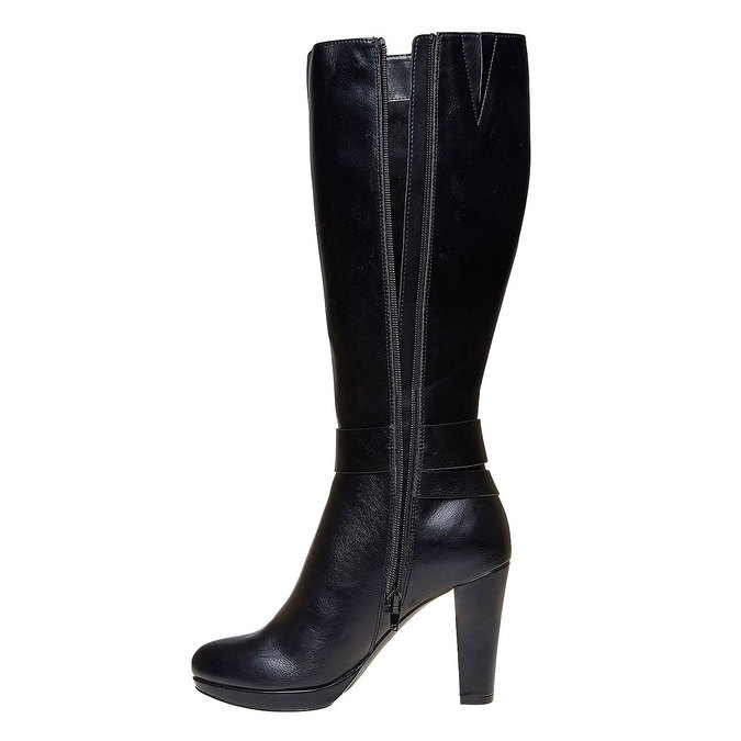 Chaussures Femme bata, Noir, 791-6306 - 19