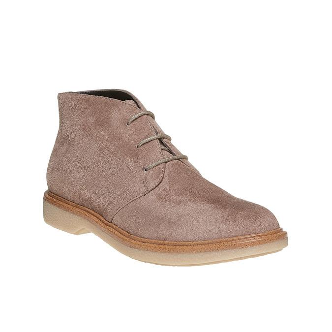 Chaussure femme style Chukka Boots bata, Gris, 529-2200 - 13