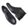 Chukka Boots en cuir pour homme bata, Noir, 894-6282 - 19