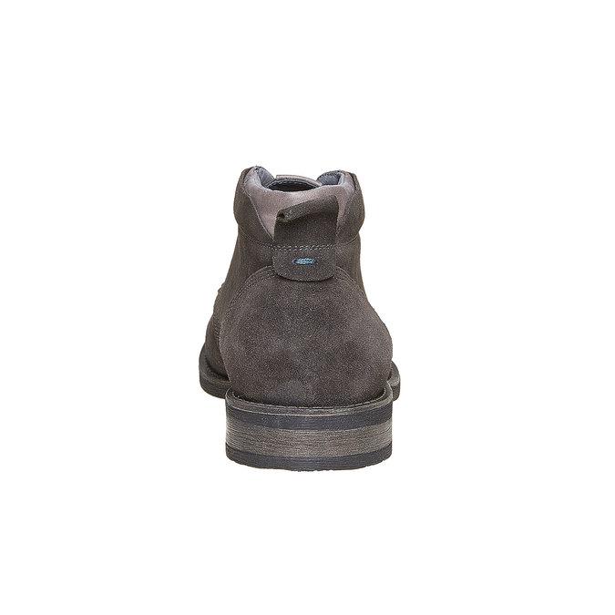 Chaussures Homme bata, Gris, 823-2533 - 17