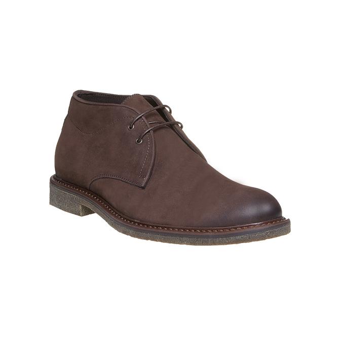 Desert Boots en cuir pour homme bata, Brun, 846-4649 - 13