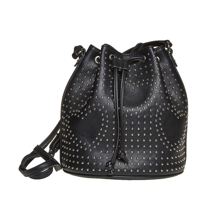 Sac à main dans le style Bucket Bag bata, Noir, 961-6853 - 26