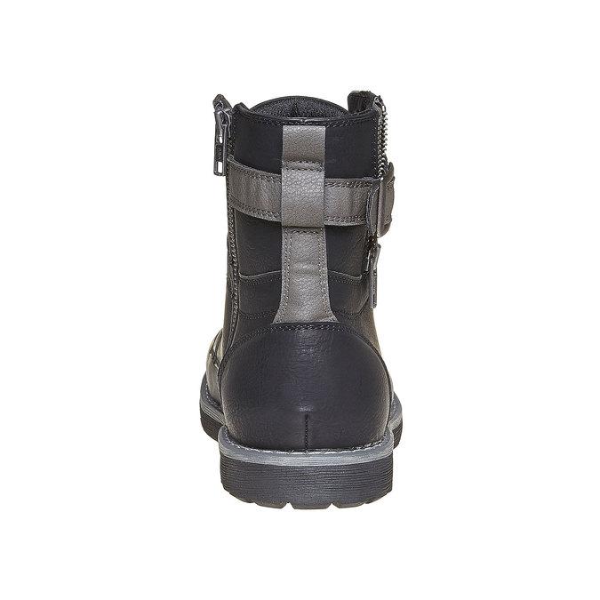 Chaussure montante homme bata, Noir, 891-6237 - 17