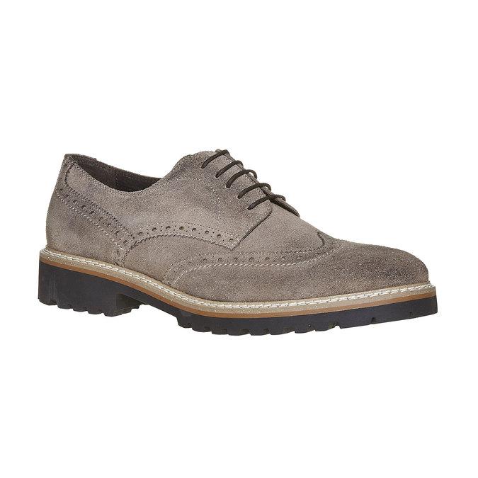Chaussure Derby homme bata, Gris, 823-2177 - 13