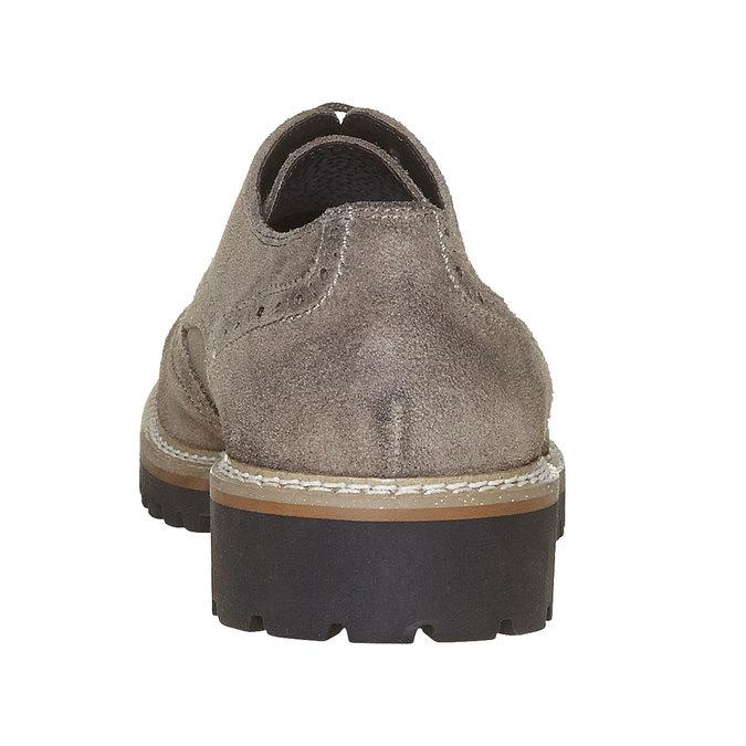 Chaussure Derby homme bata, Gris, 823-2177 - 17
