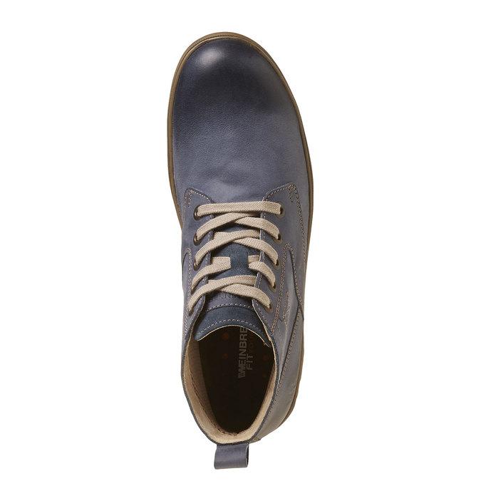 Chaussures Homme weinbrenner, Violet, 894-9521 - 19
