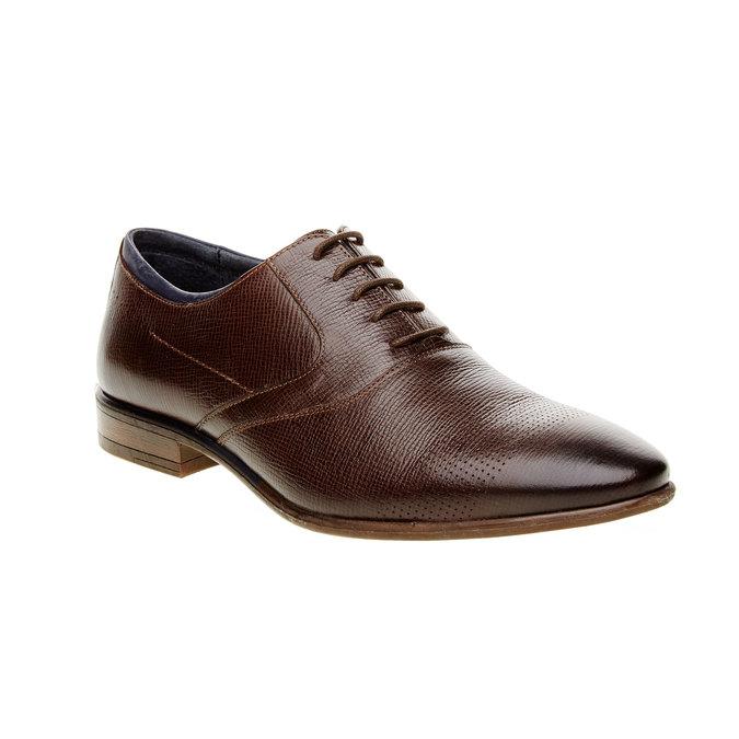 Chaussure lacée Oxford bata, Brun, 824-4812 - 13