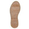 Bottines avec fausse fourrure bata, Gris, 599-2997 - 26