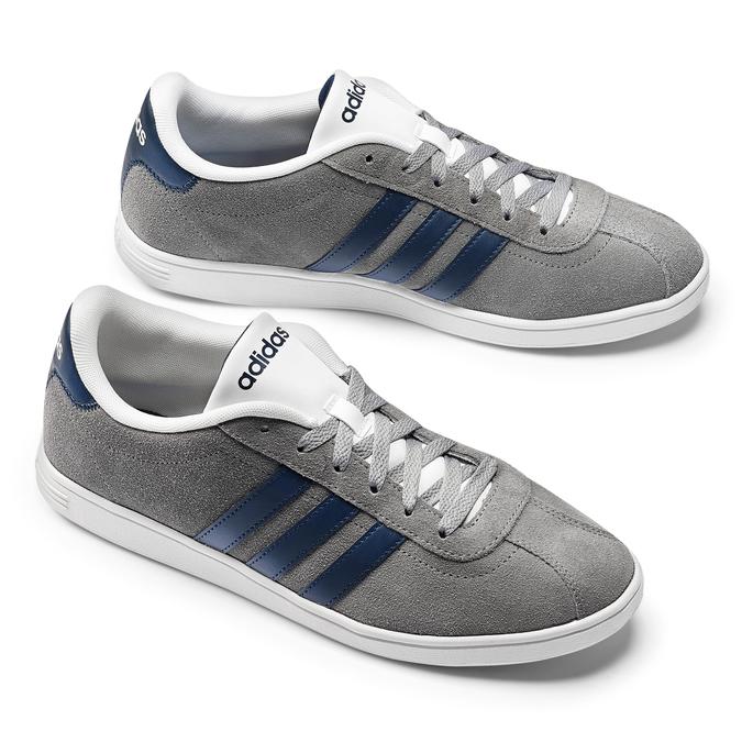 Chaussures de marche quotidienne pour homme adidas, Gris, 803-2122 - 19
