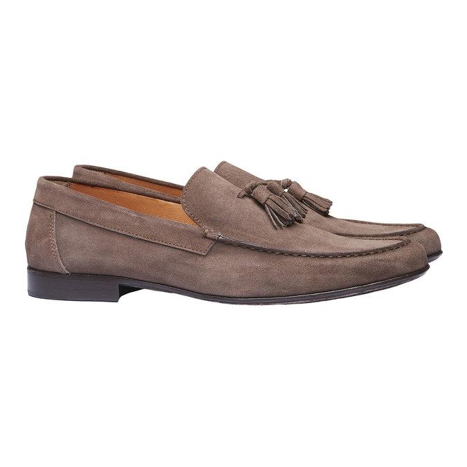 Mocassin en cuir homme shoemaker, Brun, 813-4149 - 26