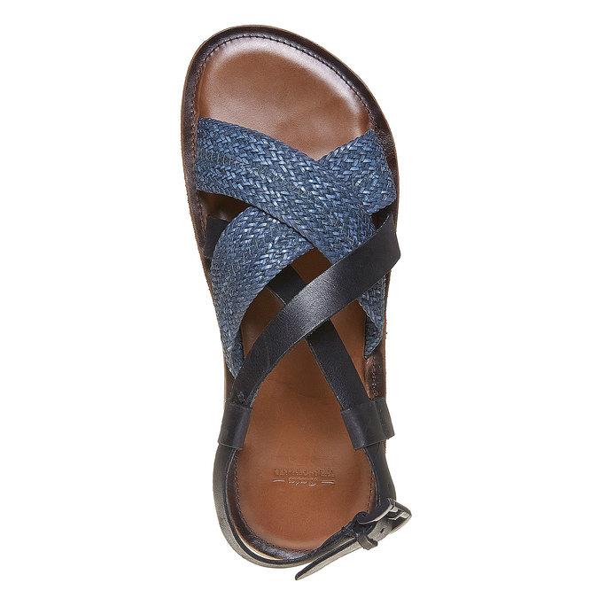 Sandale en cuir homme shoemaker, Violet, 864-9235 - 19