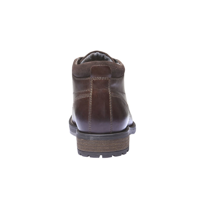 Bottines bata, Brun, 894-4661 - 17