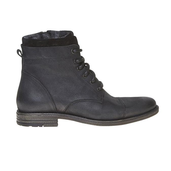 Chaussure en cuir pour homme bata, Noir, 894-6284 - 15