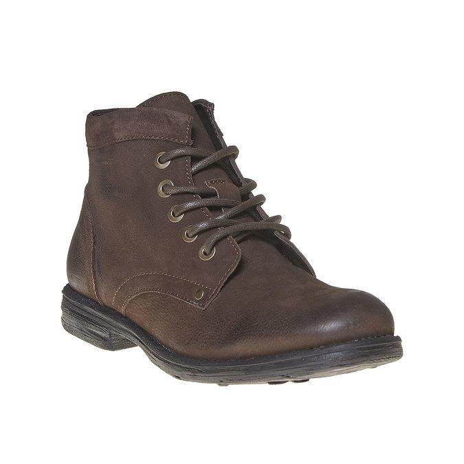 Chaussure montante en cuir pour homme bata, Brun, 896-4704 - 13