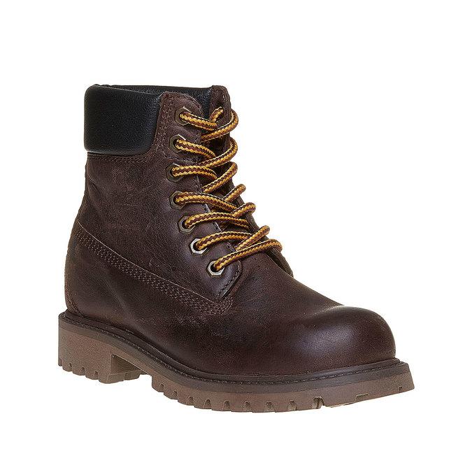 Chaussure en cuir pour enfant weinbrenner-junior, Brun, 394-4182 - 13