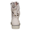 Bottines en cuir weinbrenner, Beige, 596-8405 - 17